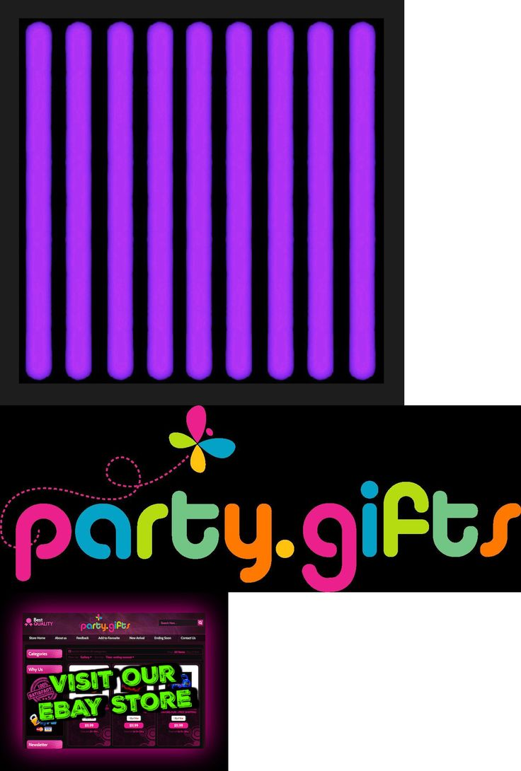 """Glow Sticks 51019: 75 - 6"""" Purple Glow Sticks With Necklaces - Neon Party Supplies -> BUY IT NOW ONLY: $43.99 on eBay!"""
