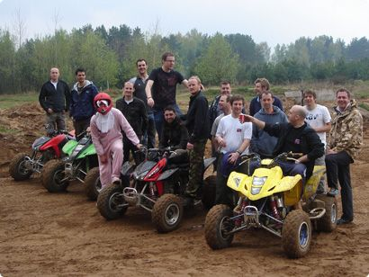 quad biking stag group #stagdo #tallinn