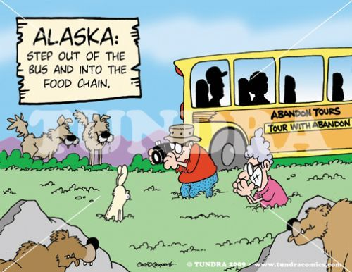 Tundra comics other funny pinterest cartoon the o for Alaskan cuisine history