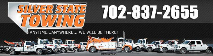 http://www.silverstatetowing.com/pricing.html Welcome to Silver State Towing, the fastest growing tow and recovery company in the Las Vegas Valley and surrounding areas for one reason....OUR CUSTOMERS ARE OUR TOP PRIORITY! We opened our doors running in 2001 and have not looked back since.