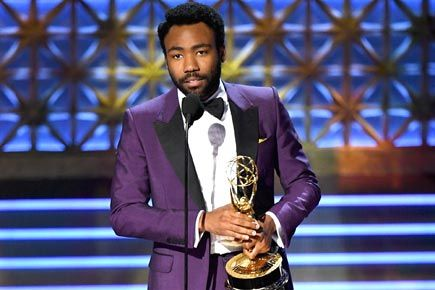 Donald Glover becomes very first black person to win Emmy for directing funny show https://goo.gl/SWPzzo