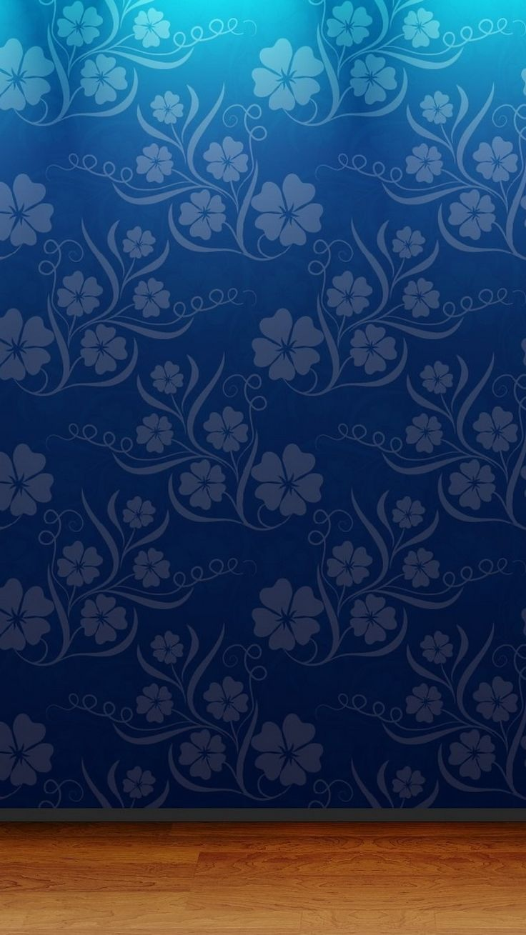 Floral Wall Paper Pattern iPhone 6 Wallpaper