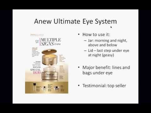 Anew Eye Creams: Consultative Selling Tips 2015 - http://47beauty.com/anew-eye-creams-consultative-selling-tips-2015/ https://www.avon.com/category/holiday?rep=valtimus   https://www.avon.com/?repid=16581277  Want to learn how to sell Anew Skin Care from the #1 seller of Anew in the nation?  Well, now you can!  Over 30 minutes Elizabeth Demas walks you through all Anew Eye Creams and how to help your customer find the one right for her using consultative selling technique