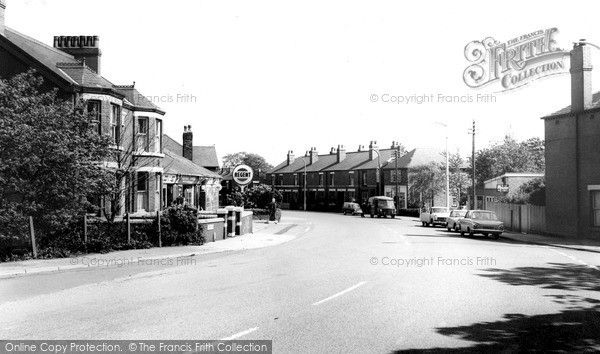 Widnes, Hough Green, Liverpool Road c.1965, from Francis Frith