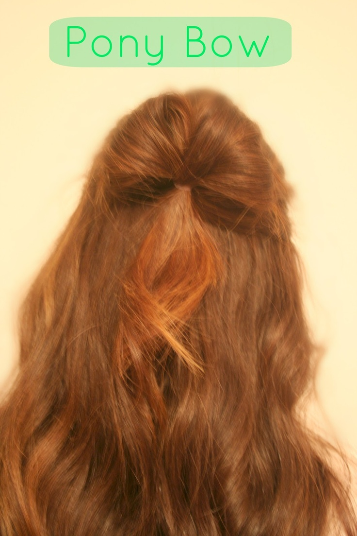 Hair Bow (2 Ways!) 30 second hairstyles, no heat, for girls: Hair Junk, Pretty Hairstyles, Elle Sees, Beauty Secrets, Hair Bows, 30 Second, No Heat Hairstyles, Second Hairstyles, Bows Delite