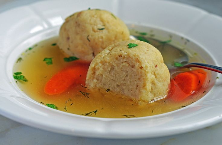 This recipe comesfrom my friend Dana Kaminsky, who,according to my family, makes the best chicken-matzo ball soup. Whenever we go to Dana'shouse for the Jewish holidays, my kids havematzo ball eating contests and stuff themselves silly — my daughter holds the record with six, which was once cause for concern — and,for every other soupwe …