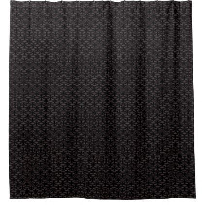 Brown Flat Patterned Popular Shower Curtains - shower gifts diy customize creative