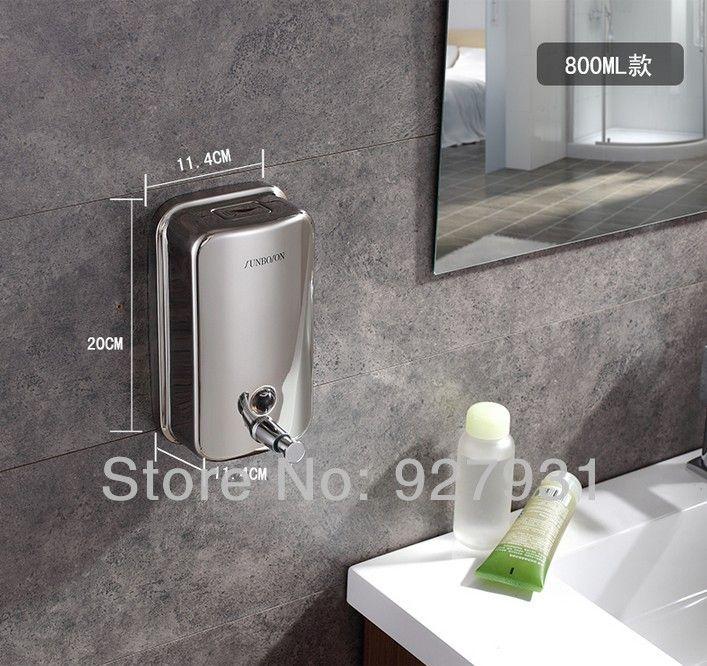 Классическая ванна Из Нержавеющей Стали Дозатор Мыла Ванная Комната Для Жидкого Мыла Окно