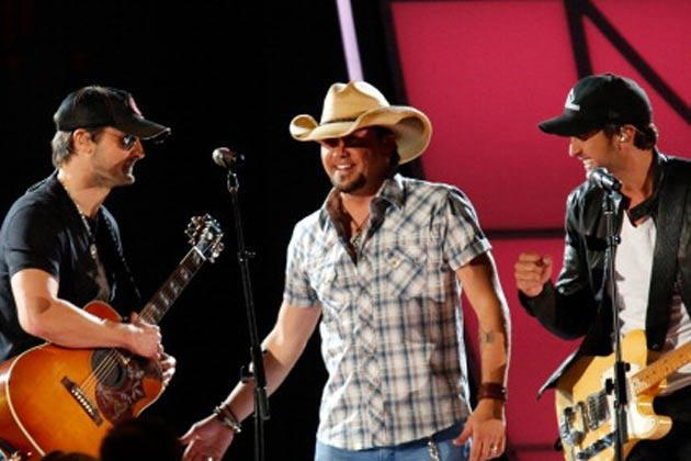 Eric Church, Jason Aldean, Luke Bryan - Literally so much sexy in this picture I think I just died.