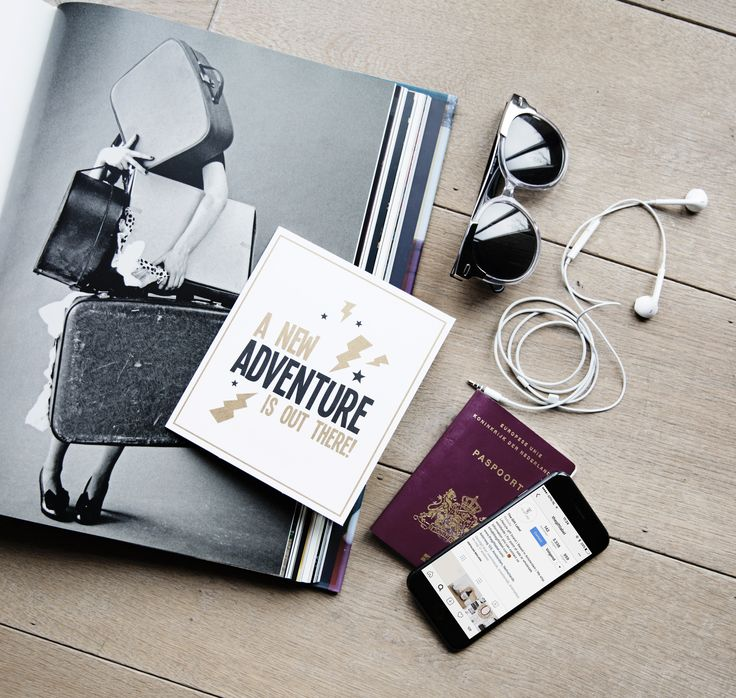 TheGiftLabel: Postcard A NEW ADVENTURE IS OUT THERE! #cards #travel #hapiness #lovetosend