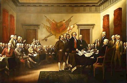 declaration of independence pictures | ... Date of America's Declaration of Independence: Fact, Fiction, Myth