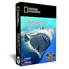 Nat Geo Mega Shark Tooth Science Kit