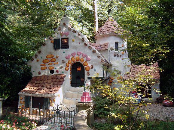 weiß Märchenhaus