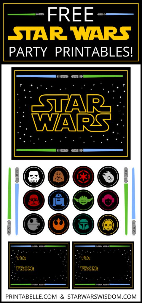 Free Star Wars Printables