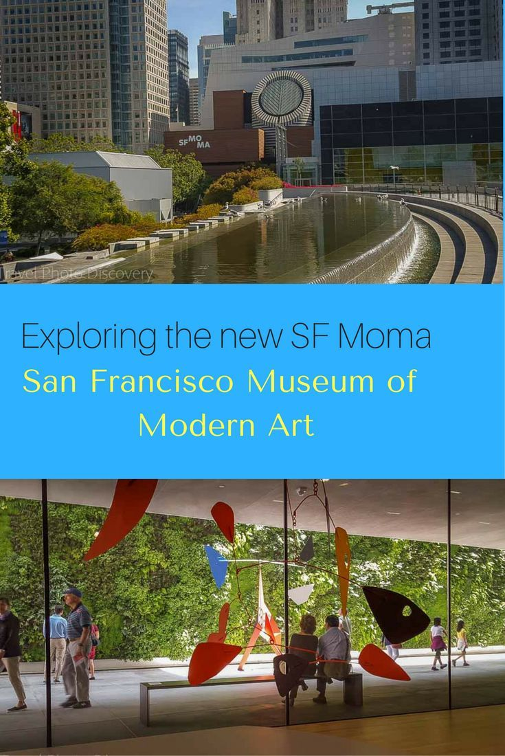 San Francisco Modern Museum of Art or SF Moma is the largest Modern Art Museum in the United States. Highlights of visiting the indoor and outdoor spaces to this amazing museum. Check out the images and details here http://travelphotodiscovery.com/san-francisco-museum-of-modern-art-sfmoma/