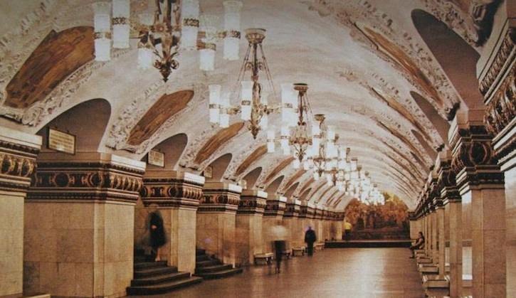 TOUR D'EUROPE DES PLUS BEAUX MÉTROS : Kiev