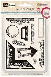*Sandylion Clear Stamps DECORATIVE DETAILS KSTP23