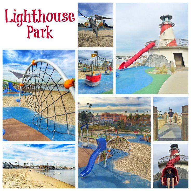 Lighthouse Park - Marina Park in Newport Beach
