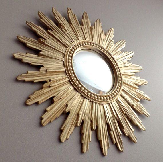 Charming Miroir Soleil Maison Du Monde #11: Les 25 Meilleures Idées De La Catégorie Miroir Convexe Sur Pinterest | Murs  Bleu Foncé, Miroir De Cheminée Et Salon éclectique