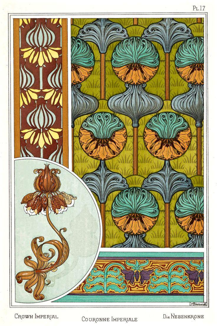 Leather Accent Tag - Art Nouveau Tag by VIDA VIDA AEZdHvO7v