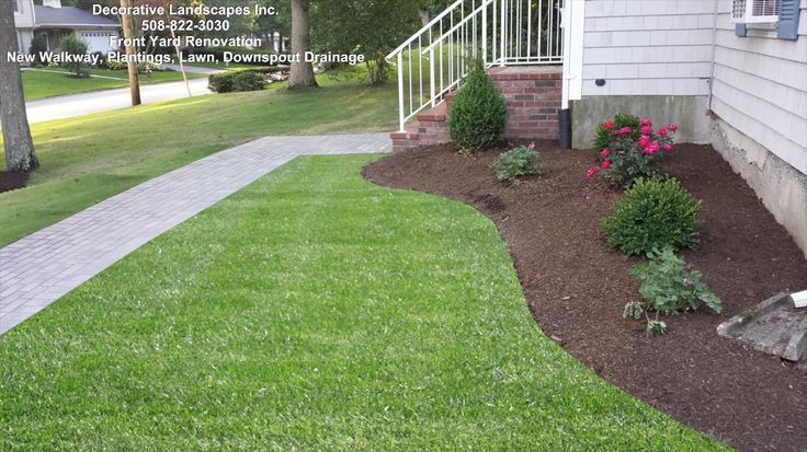 1000 Images About Front Yard Landscape Construction On