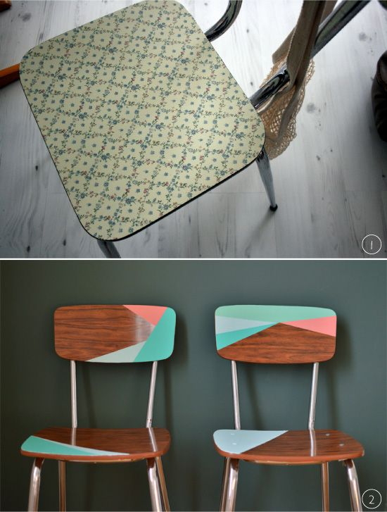 17 best images about meubles customis s on pinterest - Customiser chaise formica ...