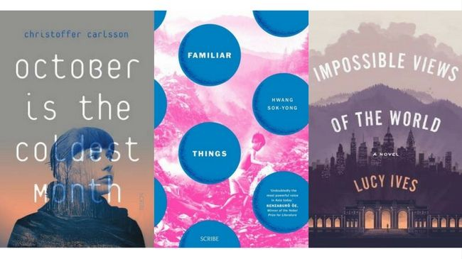 Booklover Mailbox - October is the Coldest Month, Familiar Things, Impossible Views of the World