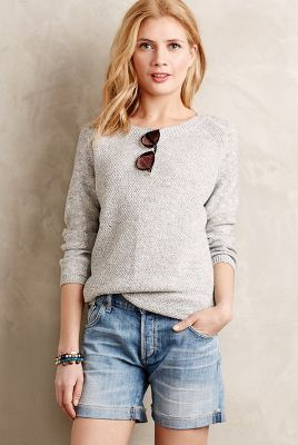 MiH Marled Sweater Tunic #anthroregistry