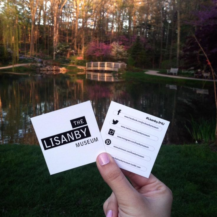 Scenic view in @ejcarboretum with our favorite social cards...  #JMU #LisanbyJMU