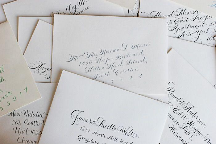 Envelope Addressing Etiquette 101