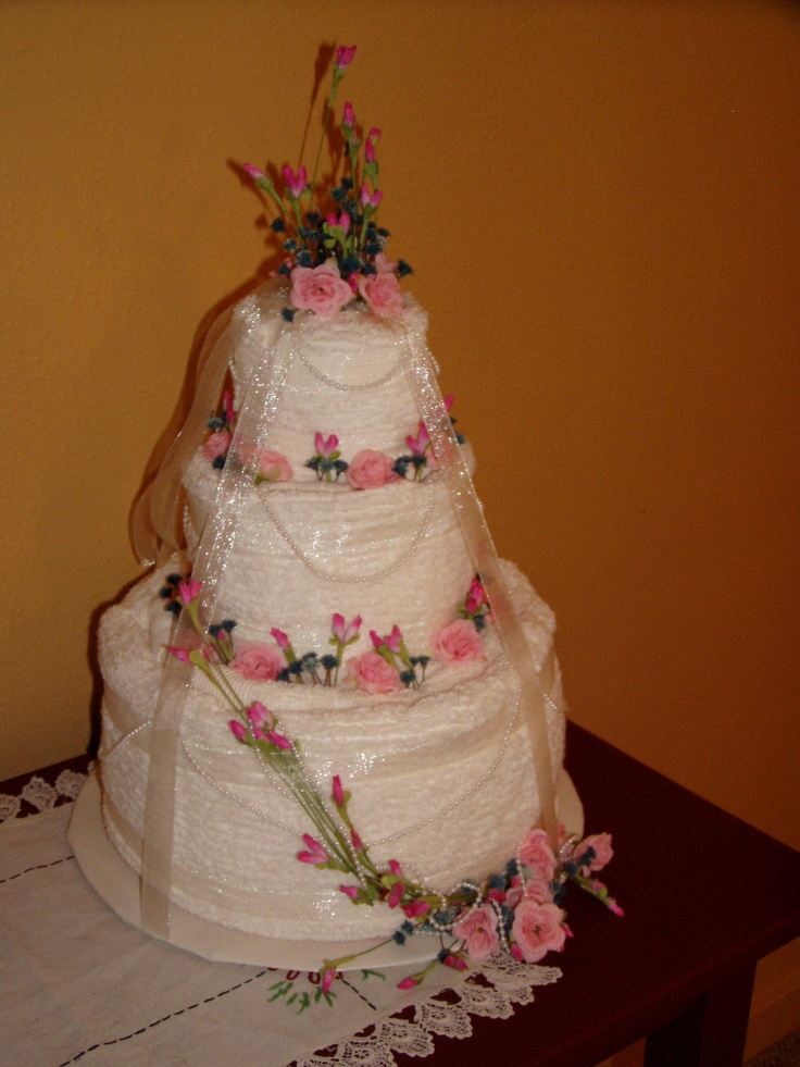 wedding cake made out of towels 17 best images about wedding ideas on 23110