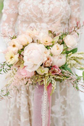 The 25 Best Blush Wedding Bouquets Ideas On Pinterest