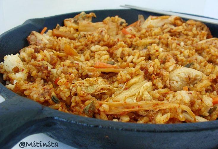 Mitinita: Orez prajit cu kimchi