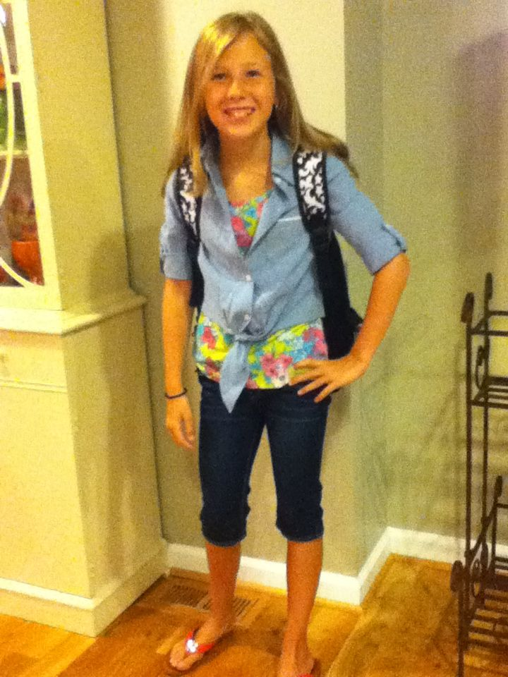 First Day of Middle School! Middle School