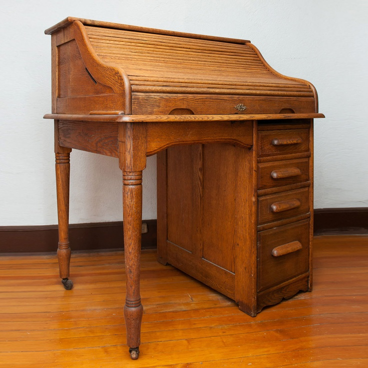 Apartment Size SRoll Top Desk  HSH  Desk Home Home Decor