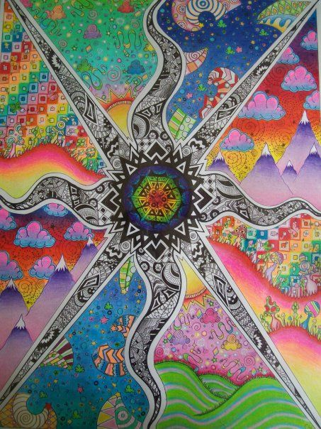 1000+ images about ☮ Art ~ Psychedelic on Pinterest ...