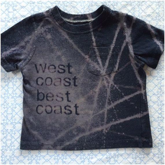 West Coast Best Coast baby Tee by RCubedbynadia on Etsy