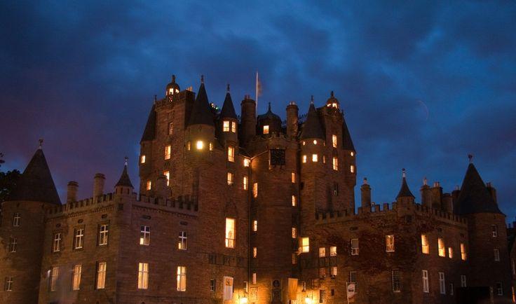 Гламис: мистический замок Шотландии.