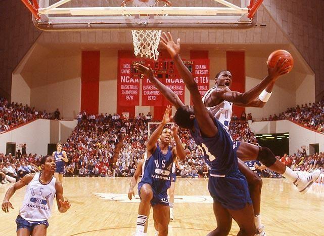 Rare shots: 1984 Olympic Basketball Trials | SI.com