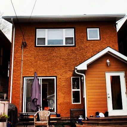 Rear view, 2 storey  home. http://www.mavbuild.com/residential.php