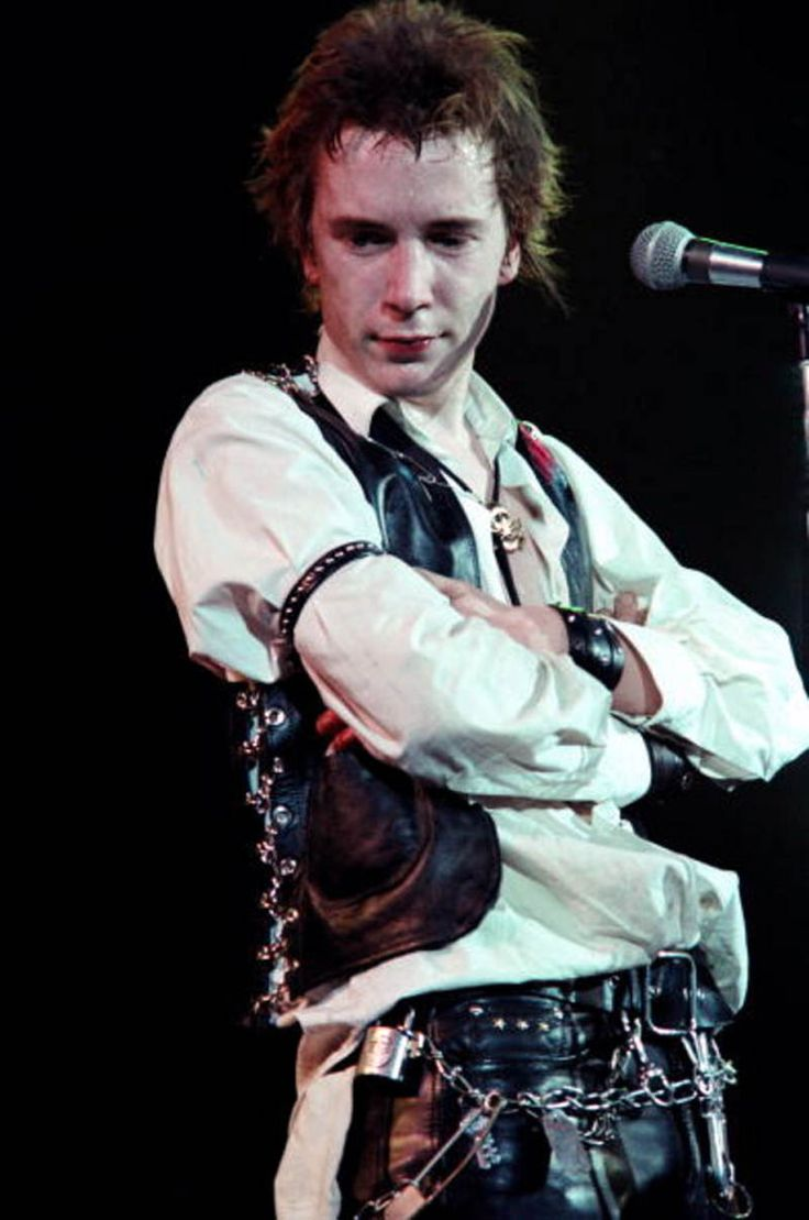 "Johnny Rotten? More like ""Johnny Adorable."" Winterland, San Francisco, by Richard McCaffery"