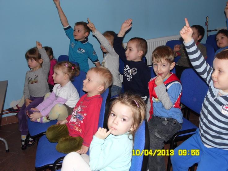 Dzieciaki były bardzo aktywne :)