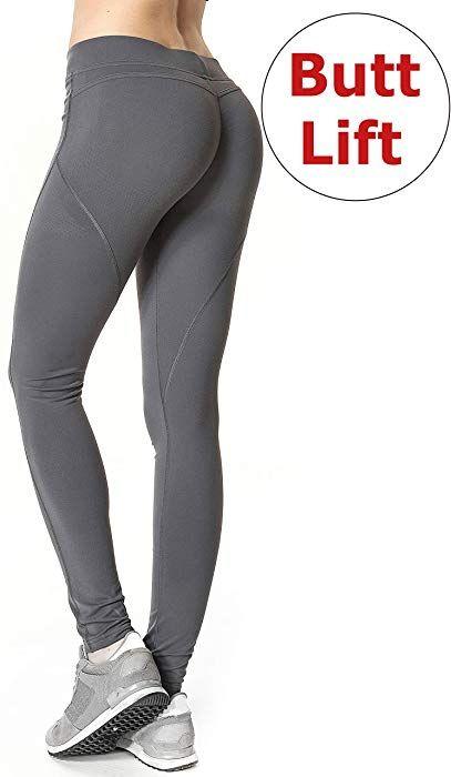 2af9cde6529188 Amazon.com: RUNNING GIRL Butt Lift Leggings Scrunch Butt Push Up Leggings  Yoga Pants for Women Shapewear Skinny Workout Tights (1068,L, Deep Grey):  Clothing
