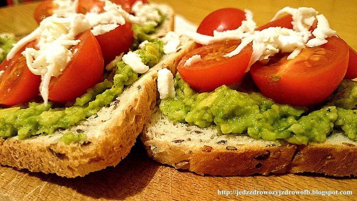 Jedz zdrowo żyj zdrowo: Tosty włoskie z awokado.