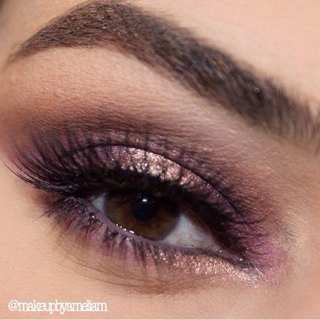 ✨✨ Eyebrows: @anastasiabeverlyhills brow gel in brunette and pomade in dark brown. @makeupgeekcosmetics eyeshadows for outer crease in frappè and mocha and brow bone in beaches and cream! @colourpopcosmetics for inner crease and corner of eye in mittens and amaze on centre of eyelid. @Inglot_usa for waterline in number 89 gel liner. @houseoflashes in pixie luxe !! #anastasiabrows #anastasiabeverlyhills #colourpopcosmetics #colourpop #makeupgeekcosmetics #makeupgeektv #inglot #houseoflashes…
