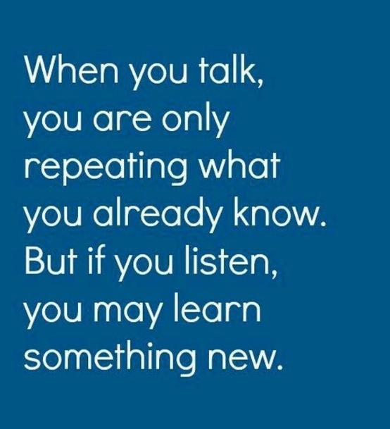 """Afbeelding: ken je de uitdrukking """"praten is zilver en zwijgen is goud""""? Deze quote is hierbij een goede aanvulling. #communicatie"""