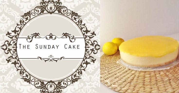 The Sunday Cake- Cheesecake de Limão | 1/2 torradinha e um pingo
