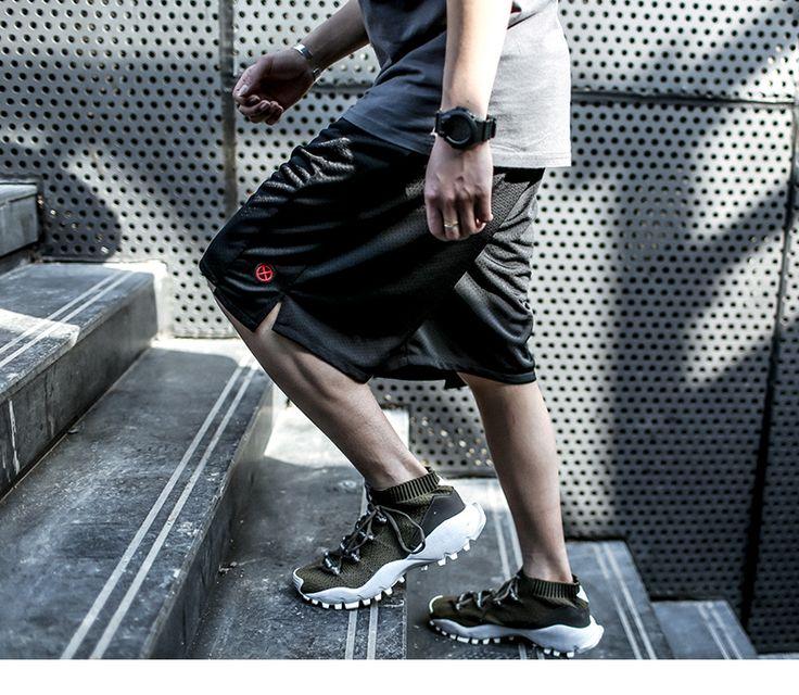 Спортивные шорты мужские свободные летние быстрый сухой сетки баскетбол брюки пять брюки ENSHADOWER коверта 17SS-определиться. com дней кошка