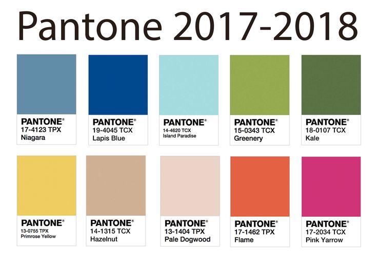 Infórmate ya de los colores que se llevarán este 2018.