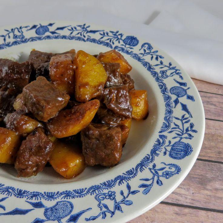 Geschmortes Rindfleisch in Sojasoße Indonesisch Fleisch Hauptgerichte Schmoren #asianfood #asiatisch #exotisch